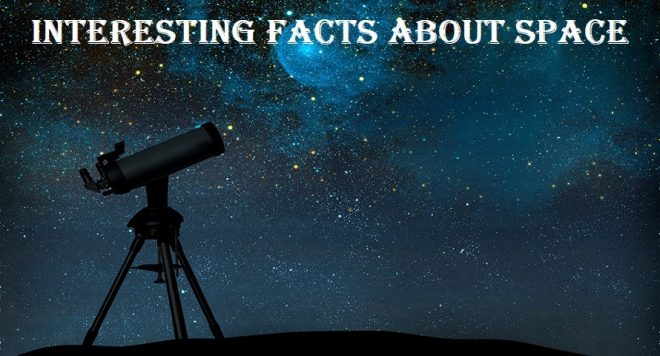 interesting facts about space